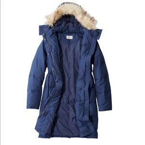 RARE M/L PINK💗goose down puffer coat jacket long